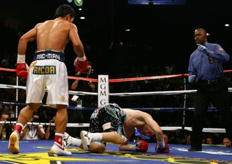 Pacquiao vs Hatton fight video